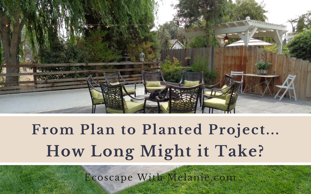 The Landscaping Process: From Plan to Planted Project, How Long Might It Take?